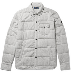 Polo Ralph Lauren - Quilted Cotton-Jersey Shirt Jacket