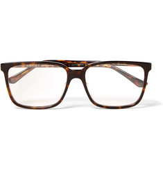 Gucci Square-Frame Tortoiseshell Acetate Optical Glasses