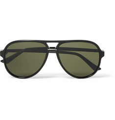 Gucci - Aviator-Style Acetate Sunglasses
