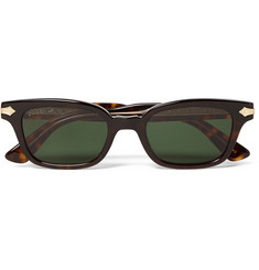 Gucci - Square-Frame Tortoiseshell Acetate and Gold-Tone Sunglasses