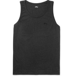 Stüssy Garment-Dyed Cotton-Jersey Tank Top