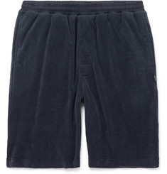 Stüssy Cotton-Blend Terry Drawstring Shorts