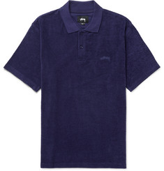 Stüssy Cotton-Terry Polo Shirt