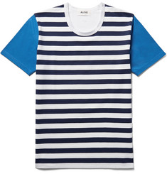 Aloye Striped Cotton-Jersey T-Shirt