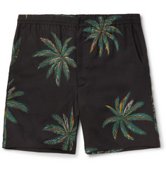 Wacko Maria - Palms Printed Voile Shorts
