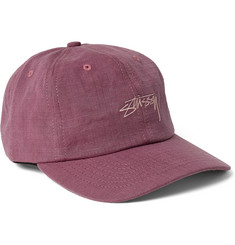 Stüssy Embroidered Cotton-Ripstop Baseball Cap