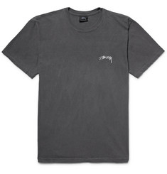 Stüssy Paradise Lost Printed Cotton-Jersey T-Shirt