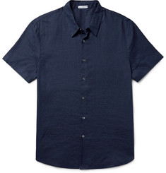 James Perse Slim-Fit Linen Shirt
