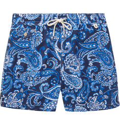 Polo Ralph Lauren Mid-Length Paisley-Print Swim Shorts
