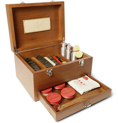 Turms - Complete Shoe Care Kit with Wood Case