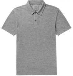 Sunspel + Iffley Road Stanton Slim-Fit Mélange Tech-Piqué Polo Shirt