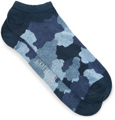 Corgi Camouflage-Print Cotton-Blend Socks