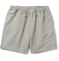 Mollusk Mid-Length Cotton-Blend Faille Swim Shorts