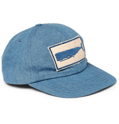 Mollusk Appliquéd Denim Baseball Cap