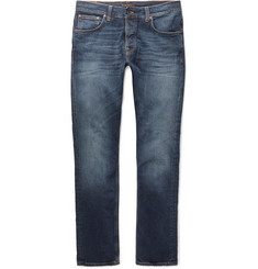 Nudie Jeans Dude Dan Organic Stretch-Denim Jeans