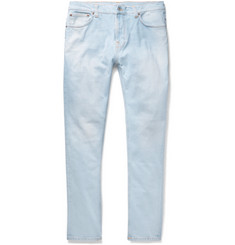 Nudie Jeans Brute Knut Slim-Fit Tapered Organic Stretch-Denim Jeans