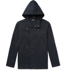 A.P.C. Cliff Water-Repellent Cotton-Blend Hooded Parka