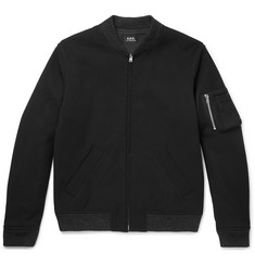 A.P.C. - Felix Cotton-Drill Bomber Jacket