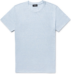 A.P.C. Jimmy Slim-Fit Slub Cotton-Blend Jersey T-Shirt