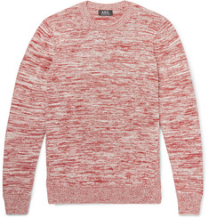 A.P.C. Soto Mélange Cotton Sweater