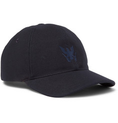 A.P.C. Louis Embroidered Cotton-Piqué Baseball Cap