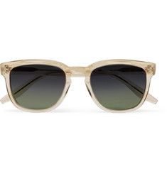Barton Perreira - Coltrane Square-Frame Acetate Polarised Sunglasses