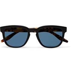Barton Perreira - Coltrane Square-Frame Matte-Acetate Polarised Sunglasses