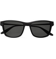 Barton Perreira Rango Square-Frame Acetate and Titanium Sunglasses