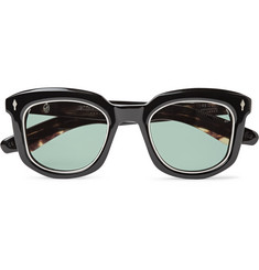 Jacques Marie Mage Pasolini Square-Frame Acetate Sunglasses