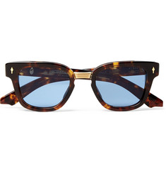 Jacques Marie Mage - Jules Square-Frame Tortoiseshell Acetate and Gold-Tone Sunglasses