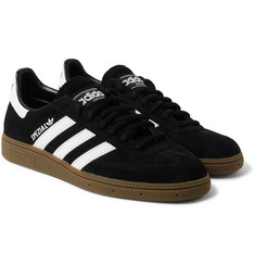 adidas Originals - Spezial Leather-Trimmed Suede Sneakers