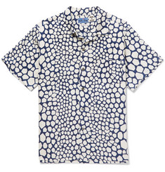 Blue Blue Japan - Bassen Printed Linen Shirt