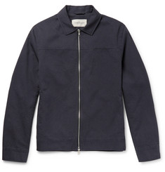 Oliver Spencer - Buck Pinstriped Cotton Jacket