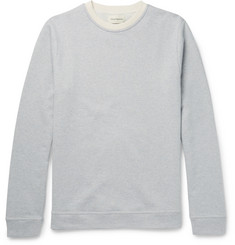Oliver Spencer Mali Slim-Fit Striped Loopback Cotton-Jersey Sweatshirt