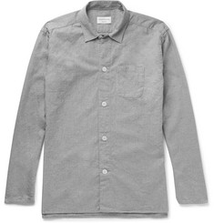Oliver Spencer Loungewear - Brushed-Cotton Pyjama Shirt