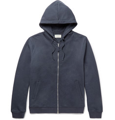 Oliver Spencer Loungewear Fleece-Back Cotton-Jersey Hoodie