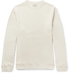 Oliver Spencer Loungewear Fleece-Back Cotton-Jersey Sweatshirt