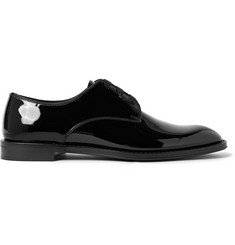 Givenchy Patent-Leather Derby Shoes