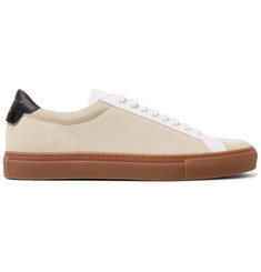 Givenchy Urban Street Leather and Suede Sneakers