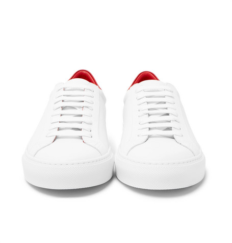 Urban Street Two-tone Leather Sneakers - White