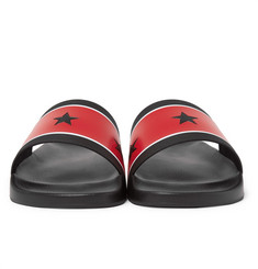 Givenchy - Star and Stripe Rubber Slides