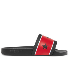 Givenchy Star and Stripe Rubber Slides