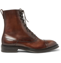 Berluti Polished-Leather Boots