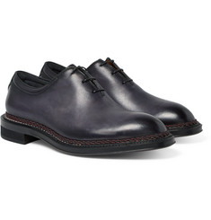 Berluti - Whole-Cut Polished-Leather Oxford Shoes