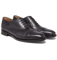 Berluti - Roccia Cap-Toe Polished-Leather Oxford Shoes