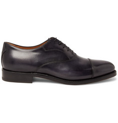 Berluti Roccia Cap-Toe Polished-Leather Oxford Shoes