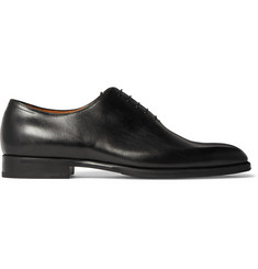 Berluti Alessandro Capri Whole-Cut Leather Oxford Shoes