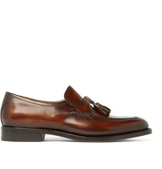 Berluti Polished-Leather Tasselled Loafers