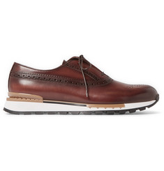 Berluti Fast Track Leather Sneakers