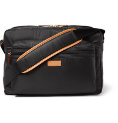 Paul Smith - Leather-Trimmed Shell Messenger Bag